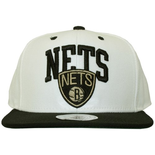 Mitchell & Ness - Casquette Snapback Homme Brooklyn Nets Crearc
