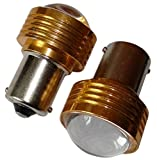 AERZETIX: 2x Bombillas 24V P21W R10W R5W LED HIGH POWER 3W blanco para camion semirremolque puerta de garaje portal C11785
