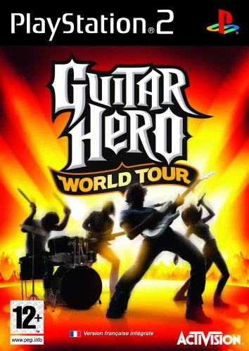 Activision  Guitar Hero: World Tour (Game Only), PS2
