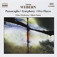 Webern: Passacaglia, Symphony, Five Pieces (2002-01-15)
