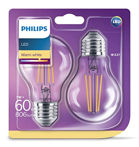 Bombillas Led E27 Luz Calida Vintage Marca Philips Lighting