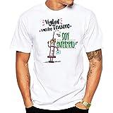 Camiseta Hombre. Vigilad vuestro Trasero Soy enfermero. Camiseta Divertida de Regalo Algodon (M)