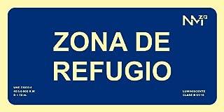 Normaluz RD00113 Se/ñal Luminiscente Puerta Cortafuegos Clase B PVC 0,7mm 21x30cm con CTE RIPCI y Apto para la Nueva Legislaci/ón