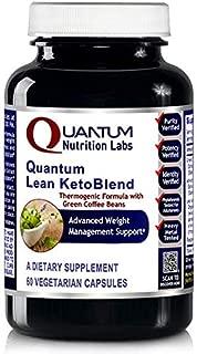 Quantum Lean Advantage KetoBlend 180 Vcaps 3 Bottles, Green Coffee Bean Extract