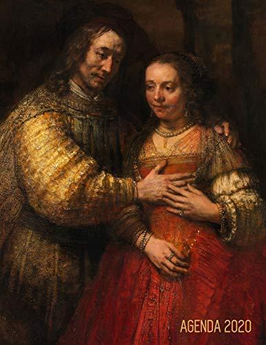 Rembrandt Pianificatore 2020: Sposa Ebrea | 12 Mesi | Con Calendario 2020 | Maestro Olandese | Organizer & Diario | Agenda Giornaliera 2020 (Italian Edition)