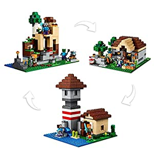Amazon.co.jp - レゴ マインクラフト クラフトボックス 3.0 21161