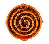 Dog Games Outward Hound Fun Feeder Coral Orange