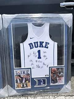 Zion Williamson Rj Barrett Duke 2019 Team Autographed Signed Jersey JSA Autograph Framed