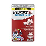 Weight Loss Drink Mix | Hydroxycut Lose Weight Drink Mix | Weight Loss for Women & Men | Weight Loss Supplement | Energy Drink Powder | Metabolism Booster for Weight Loss | Wildberry Blast, 28 Packets