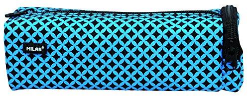 Milan Prints 3 Estuches, 20 cm, 1 litros, Azul