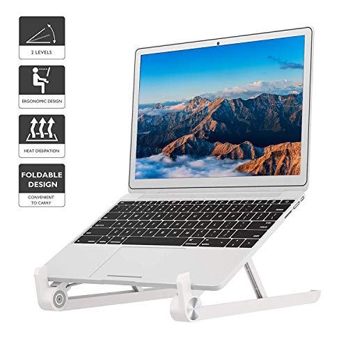 1home Foldable Portable Laptop Stand Adjustable Notebook Holder for Mac Book Tablet Ergonomic