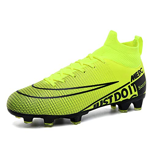 RHSML Men's Football Boots Cleats High-top Sock Ankle Care...
