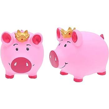 LSERVER Hucha Box Cerdo con Sonidos Infantil Hucha Muy Divertido para Ahorrar Dinero