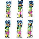 Lacosvi Globos de Agua Pequeños, Bombas de Agua, Bunch o Balloons, Llenado Ultra Rápido, 37 Globos en menos de 60 Sg Incluye 6 Bolsas de 37 Globos Cada 1 (pack 6 bolsas)