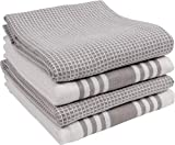 KAF Home Kitchen Towels, Set of 4 Absorbent, Durable and Soft Towels | Perfect for Kitchen Messes...