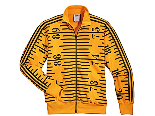 adidas Herren Jacke by Jeremy Scott TAPEMEASURE TT Supergold/Black