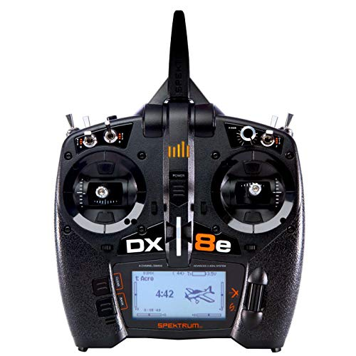 Spektrum DX8e 8-Channel DSMX Transmitter Only, SPMR8105