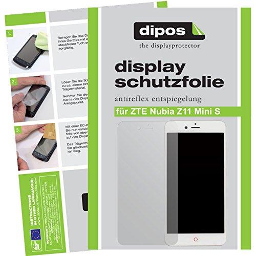 dipos I 6X Schutzfolie matt kompatibel mit ZTE Nubia Z11 Mini S Folie Bildschirmschutzfolie