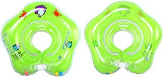 Nazala - Bath Pillows - 1 Pcs Baby Float Ring Inflatable Born Infant Neck Swimming Circle - Ring Inflatable Play Float Pool Drink Center Holder