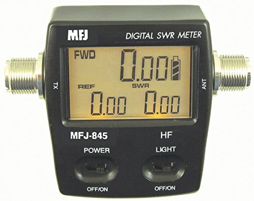 MFJ-845 1.8-60Mhz 200 Watt Digital SWR/Wattmeter. Buy it now for 127.69