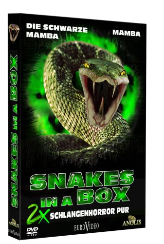 Snakes in a Box - 2 x Schlangenhorror pur [2 DVDs]