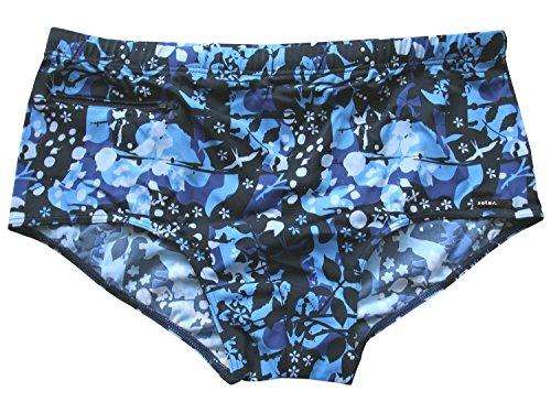 Solar Men Functional Fashion Badehose, Badeslip in blau, seitliche Höhe ca. 16cm, Gr. 7 (XL)