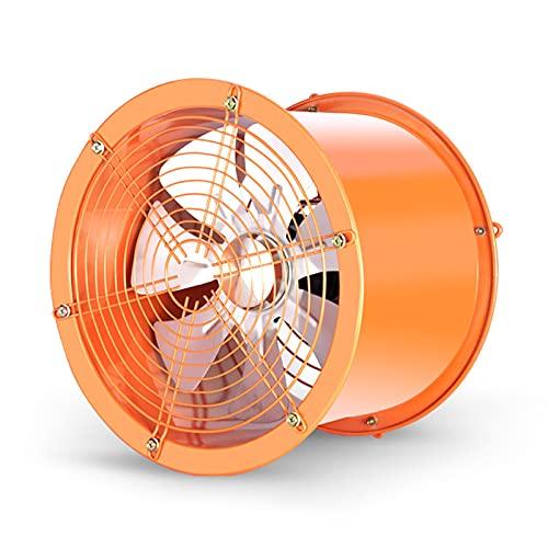 Ventiladores Ventilador de ventilación de conducto en línea de alta velocidad ventilador de escape industrial ventilador de cocina, ventilador comercial de 16 pulgadas, ventilador de ventilación, 280W
