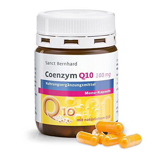 Q10 Coenzym Q10 Mono-Kapseln mit 100mg reinem, natürlichem Q10, 90 Kapseln