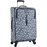 Chaps Expandable Carry On Spinner Luggage, Dot Garden, One Size