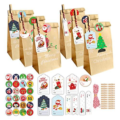 Bolsa de dulces de Navidad Santa Claus Candy Holder Bolsa de almacenamiento de chocolate de Navidad Decoración de árbol de Navidad C