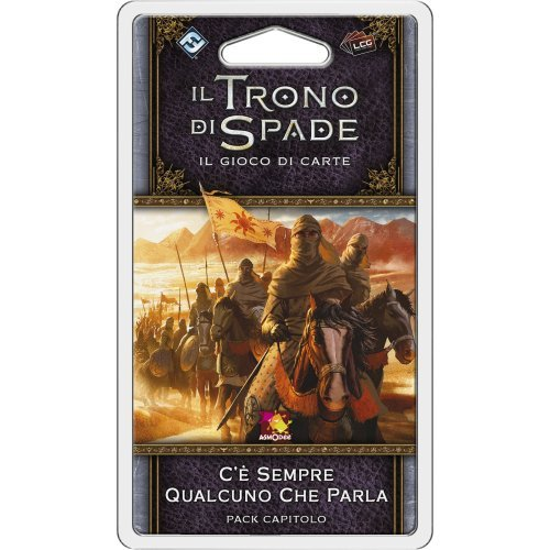 Asmodee Italia-Juego de Tronos LCG 2nd Ed. Expansión siempre hay alguien que habla de juego de mesa, color, 9234 , color/modelo surtido