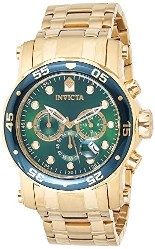 Pro Diver Chronograph Green Dial Mens Watch - Invicta 23653