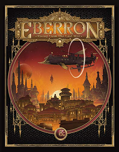 D&D Eberron: Rising from The Last War Exclusive Alternative Cover