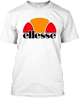Vintage Ellesse Itallia Logo - Men's Black T-Shirt tee