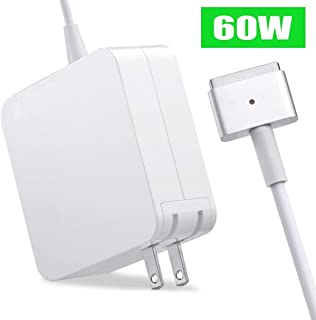 60W Charger Compatible for MacBook Air & MacBook Pro Charger Replacement Magsafe 2 Power Adapter for Mac Pro 13-inch(After Late 2012)