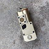 Linterna Airsoft CQBL-1 M600 M300 Flashlight Complete CNC Aluminio Impermeable Viga Roja Ajustable (...