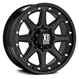 XD Series by KMC Wheels XD798 Addict Matte Black Wheel (17x9'/8x180mm, +18mm offset)