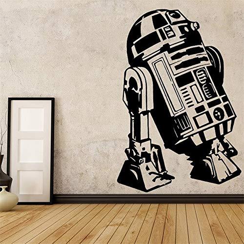 Wandtattoo R2D2 Star Wars Dekor für Wohnzimmer Dekor Schlafzimmer Zimmer Dekor Kunst