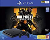 PS4 Slim 1 To F noir + Call Of Duty Black Ops 4