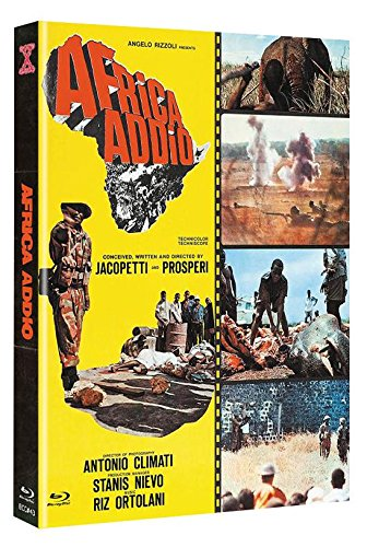 Africa Addio - Limited Mediabook Edition Cover C auf 444 Stk - DVD + Blu-ray