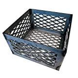 LavaLock Charcoal Basket 10 x 10 x 6 - Vertical Horizontal Offset BBQ Smoker Coal (firebox)