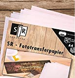 SR-Fototransferpapier - nie wieder rubbeln - 25 Blatt DIN