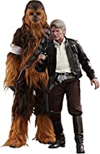 Hot Toys Star Wars Episode VII The Force Awakens Han Solo & Chewbacca 1/6 Scale Figure Set