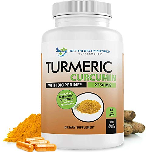 ORGANIC TURMERIC - Non GMO - ZERO FILLERS - Vegan Friendly - Halal by Muslim Standards and Kosher by Jewish Standards 95% STANDARDIZED CURCUMINOIDS- Highest Potency curcumin available BLACK PEPPER EXTRACT (Piperine) - to increase bioavailability (imp...