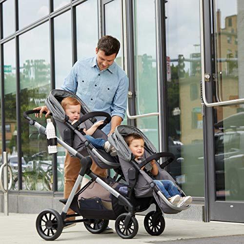 Pivot Xpand Modular Travel System with SafeMax Infant Car Seat, Percheron Gray