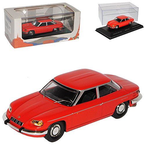 Odeon Panhard 24 BT Coupe Rot 1963-1967 limitiert auf 1000 Stück 1/43 Modell Auto mit individiuellem Wunschkennzeichen