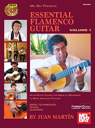 Essential Flamenco Guitar: Volume 1 by Juan Martin and Patrick Campbell(2014-01-10)