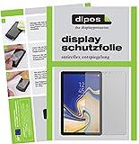 dipos I 2X Schutzfolie matt kompatibel mit Samsung Galaxy Tab S4 Folie Bildschirmschutzfolie