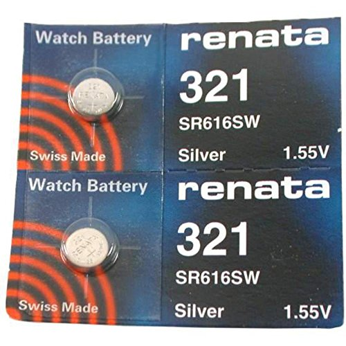 #321 2 Renata Watch Batteries