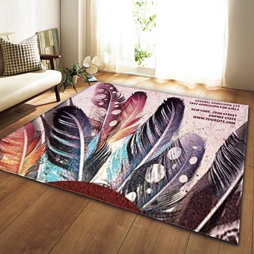 HYRL Modische Moderne 3D Groß-Größe Wohnzimmer-Teppich Waschbare Büro-Teppich Rutschfest Delicate Teppich,#6,150100